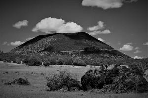 Capulin Volcano BW