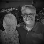 Carolyn and Jon BW