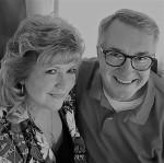 Judy and Jon BW